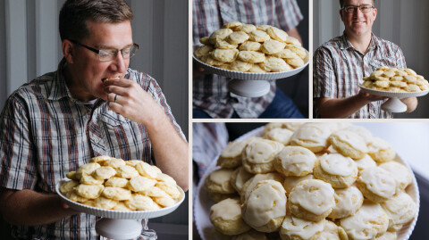 Orange Cookies by Ethan & Betsy Magness
